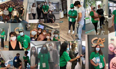 Une première expérience professionnelle au Crédit Agricole Toulouse 31