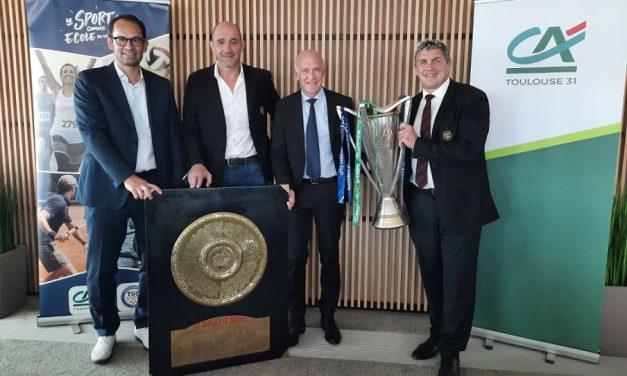 Le Crédit Agricole Toulouse 31 reconduit son partenariat officiel avec le Stade Toulousain