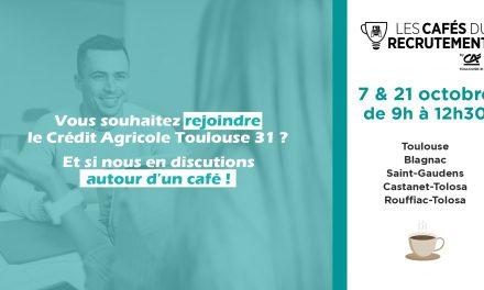 Cafés Recrutement : rencontrez-nous autour d'un café !